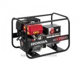Бензиновый трёхфазный генератор Honda ECT 7000