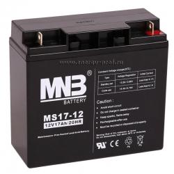 Аккумуляторная батарея MNB MS 17-12