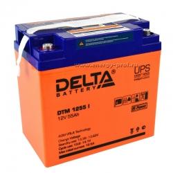 Аккумуляторная батарея Delta DTM 1255 I