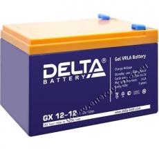 Аккумуляторная батарея Delta GX12-12
