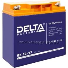 Аккумуляторная батарея Delta GX12-17