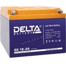 Аккумуляторная батарея Delta GX12-24