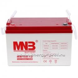 Аккумуляторная AGM батарея MNB MM 100-12