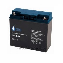 Аккумуляторная батарея АКБ Парус HM-12-17