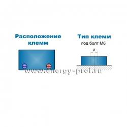 Клеммы АКБ Парус HM-12-40