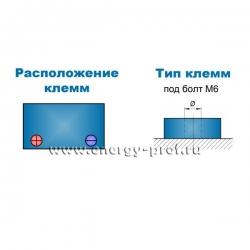 Клеммы АКБ Парус HM-12-65