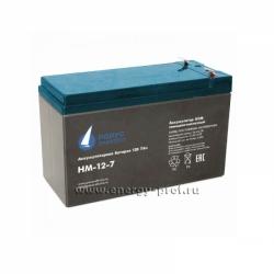 Аккумуляторная батарея АКБ Парус HM-12-7