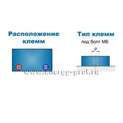 Клеммы АКБ Парус HM-12-75