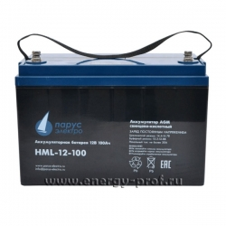 АКБ Парус Электро HML-12-100