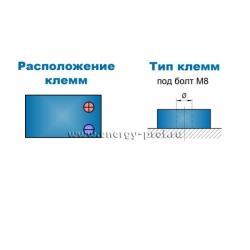 Клеммы АКБ Парус Электро HML-12-250