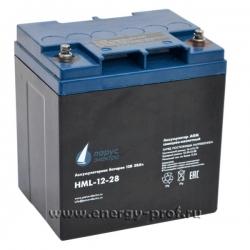 Аккумуляторная батарея Парус Электро HML-12-28