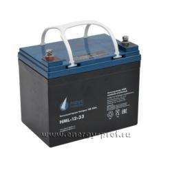 Аккумуляторная батарея Парус Электро HML-12-33
