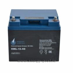 АКБ Парус Электро HML-12-40
