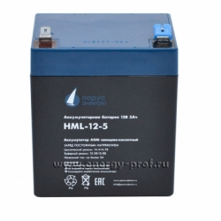АКБ Парус Электро HML-12-5