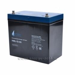 АКБ Парус Электро HML-12-55