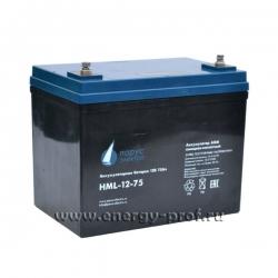 Аккумуляторная батарея Парус Электро HML-12-75