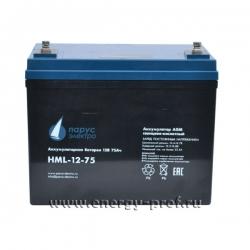 АКБ Парус Электро HML-12-75
