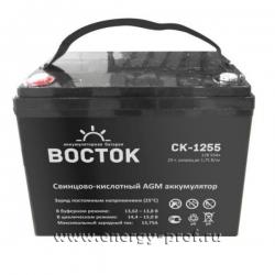 Аккумуляторная батарея Восток СК-1255