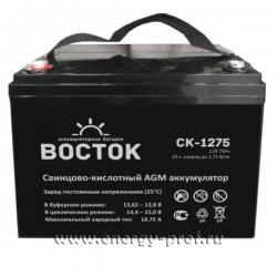 Аккумуляторная батарея Восток СК-1275