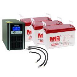 ИБП на 900 Вт от 3,5 часов с батарейным шкафом
