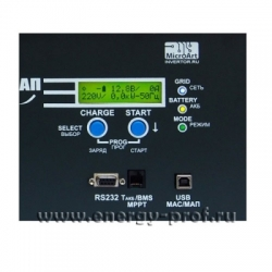 Дисплей инвертора MAP SIN PRO 12 3