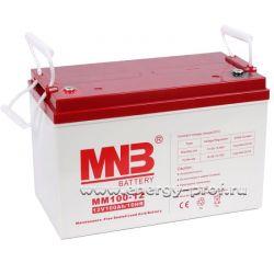 АКБ MNB MM 100-12 (100 Ач) - 2 шт.