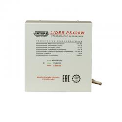Однофазный стабилизатор Lider PS 400W, вид спереди