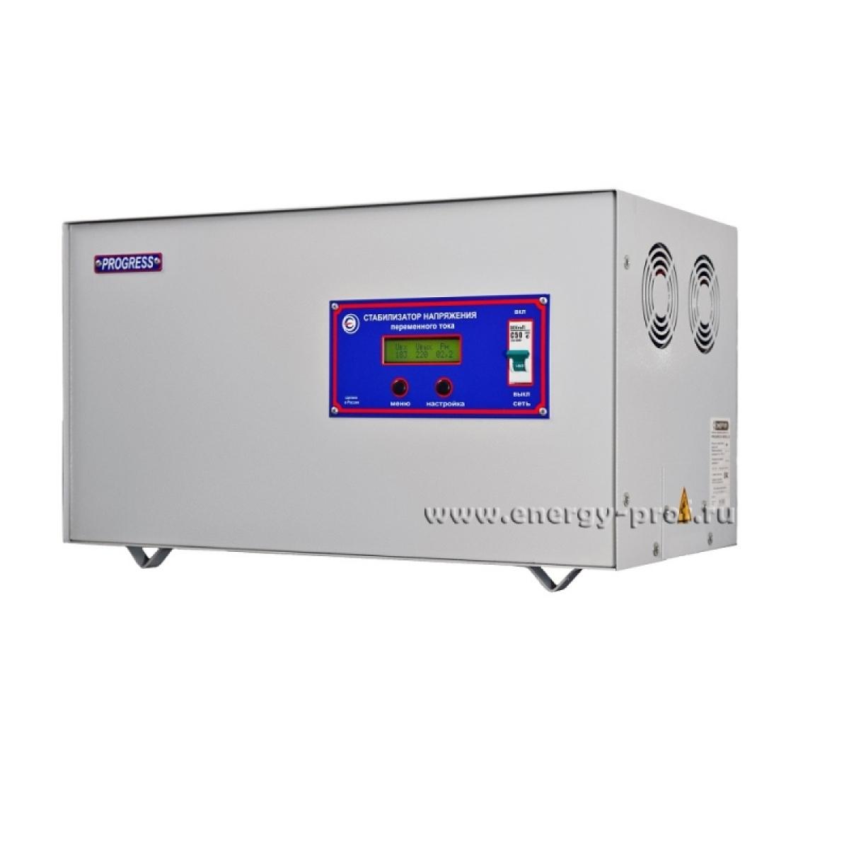 Однофазный стабилизатор PROGRESS 12000T