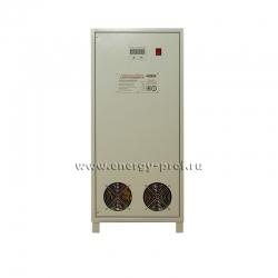 Вид спереди Однофазный стабилизатор Lider PS 15000W+50/-30