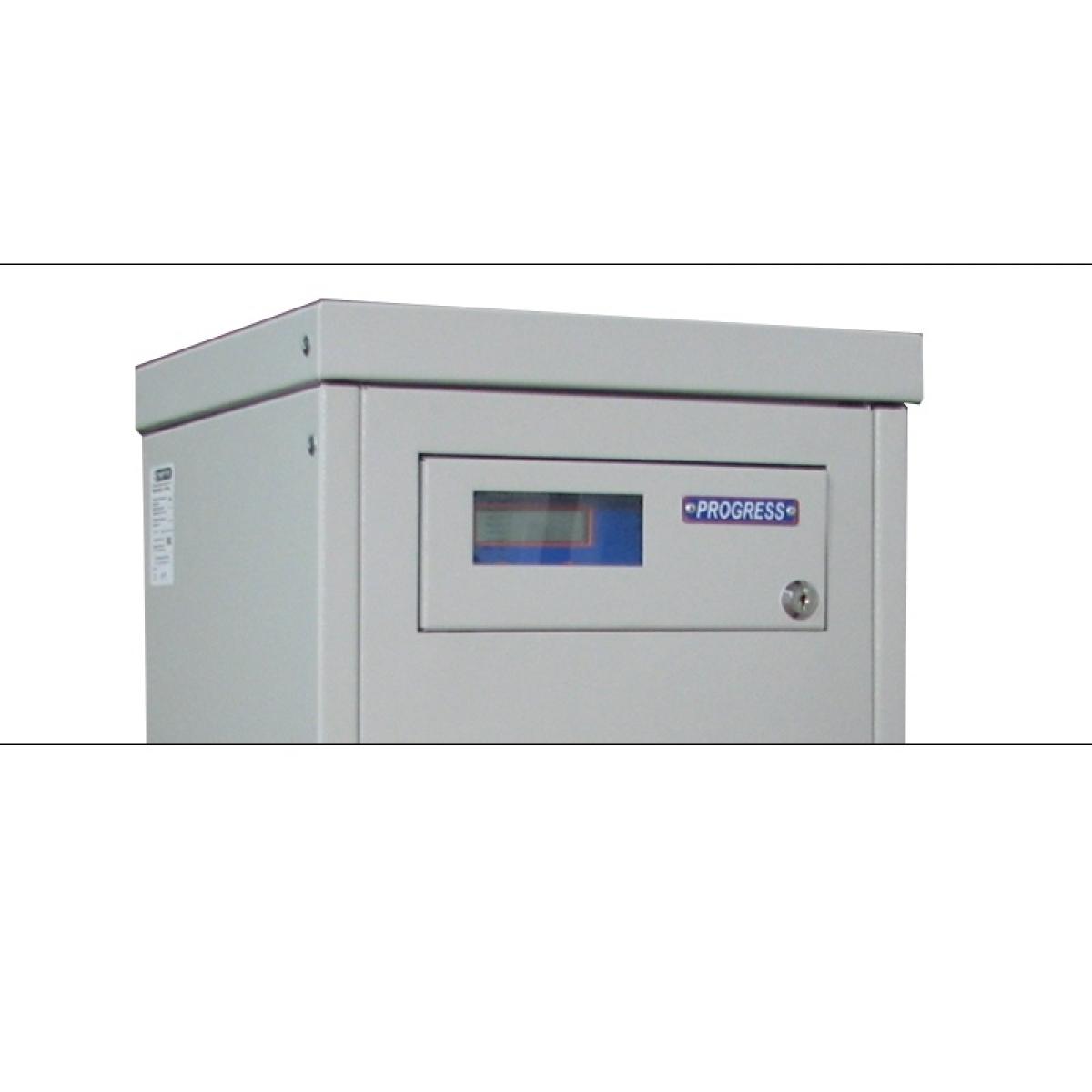 Однофазный стабилизатор PROGRESS 15000L, дисплей