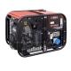 Бензиновый однофазный генератор  EUROPOWER EP 16000 E
