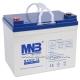 Аккумуляторная гелевая батарея MNB MNG 33-12