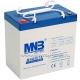 Аккумуляторная гелевая батарея MNB MNG 55-12
