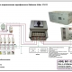 Схема подключения Ручного однофазного байпаса Lider Б1/3-12