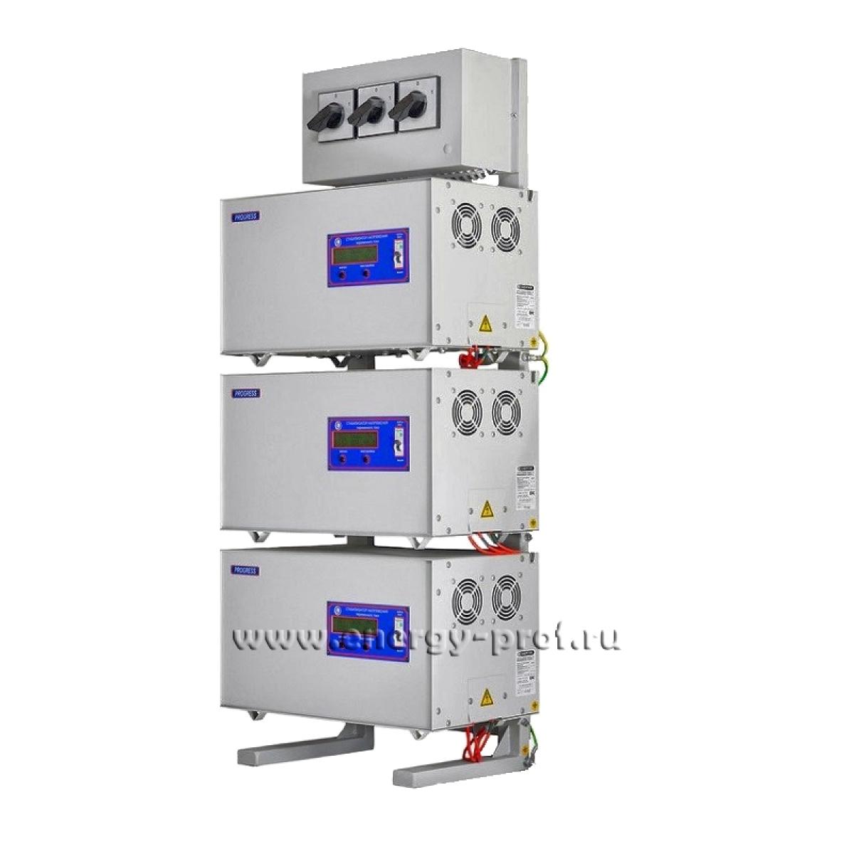 Трехфазный стабилизатор PROGRESS 15000L-3